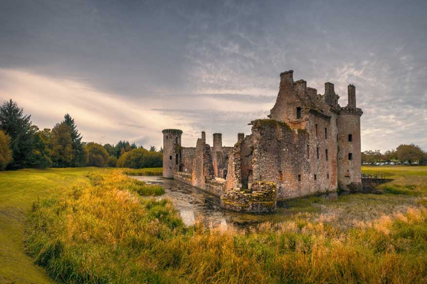 Burgruine Schottland