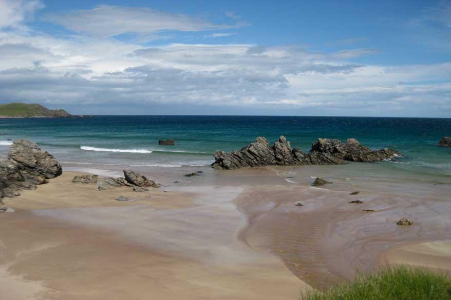 Durness Schottland Sango Sands