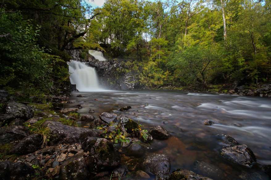 Wasserfall bei Fort William Schottland Rob Roy