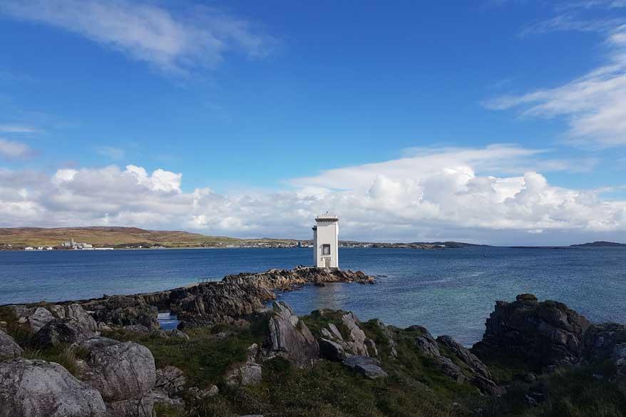 Leuchtturm auf Islay Schottland