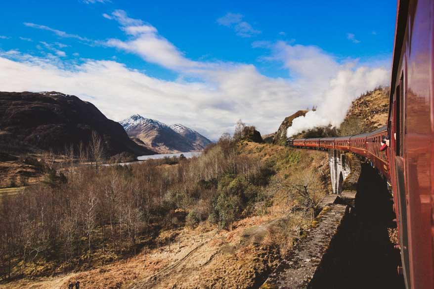 Harry Potter Zug Jacobite Steam Train