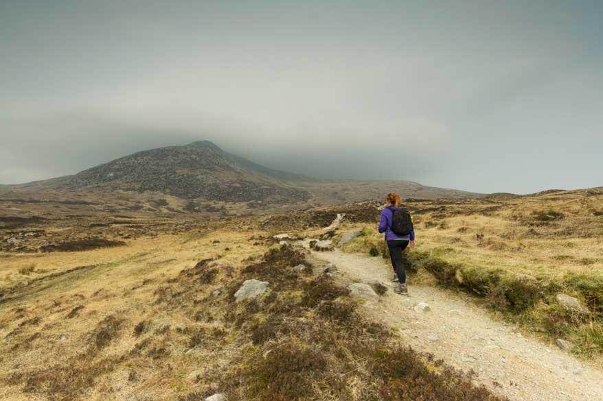 Goatfell Wandern Arran Schottland