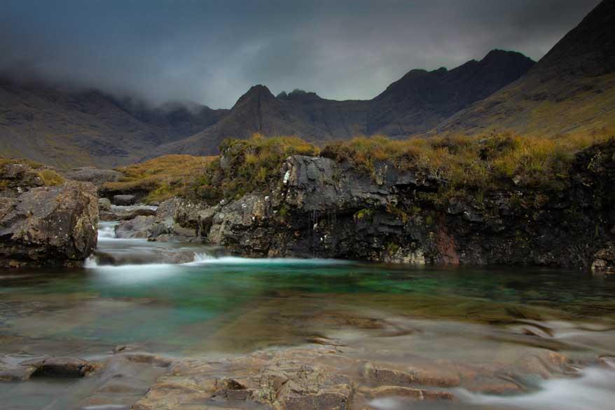 Fairy Pools Isle of Skye, Schottland