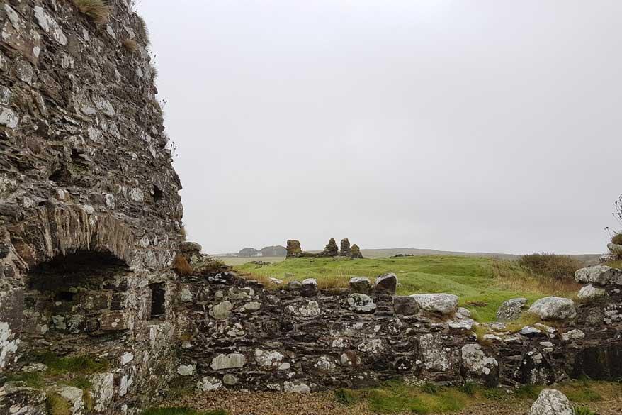 Ruinen auf Islay Schottland