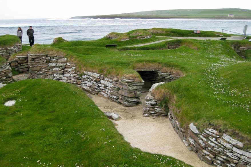 Skara Brae Orkney islands Schottland