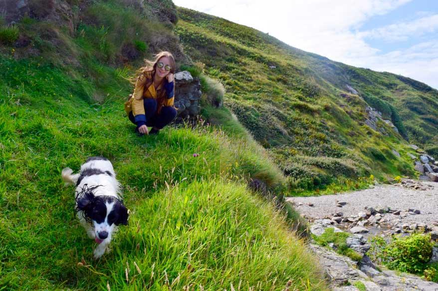 Isle of Man mit Hund