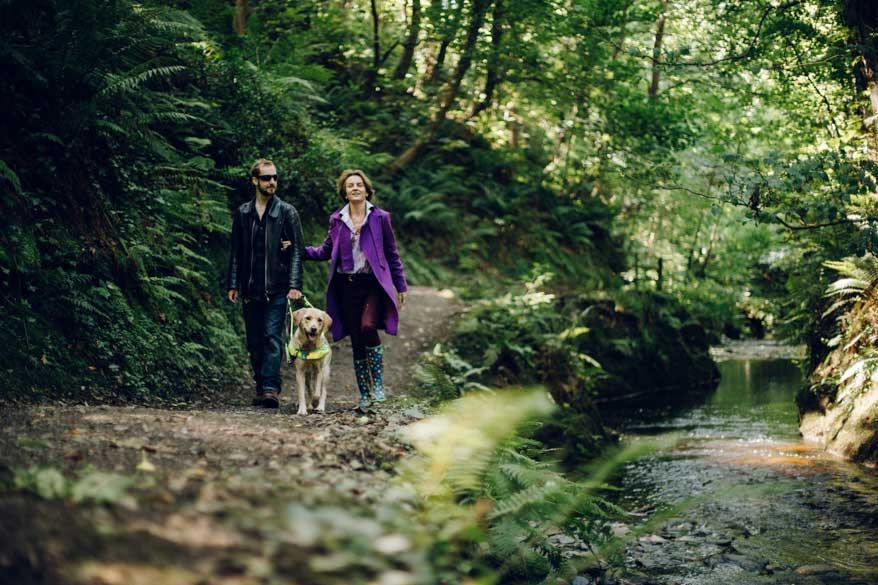 Wandern auf der Isle of Man mit Hund