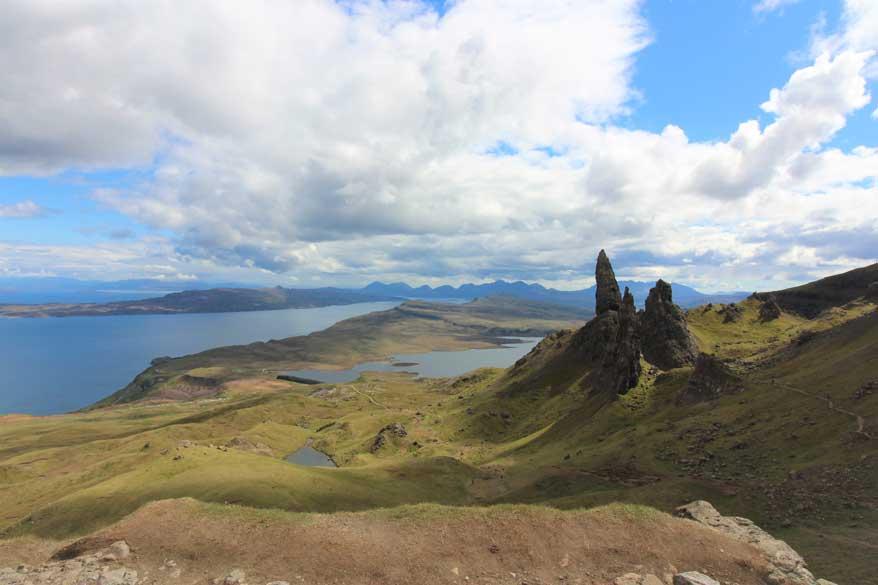 Isle of Skye, Old Man of Storr, Schottland