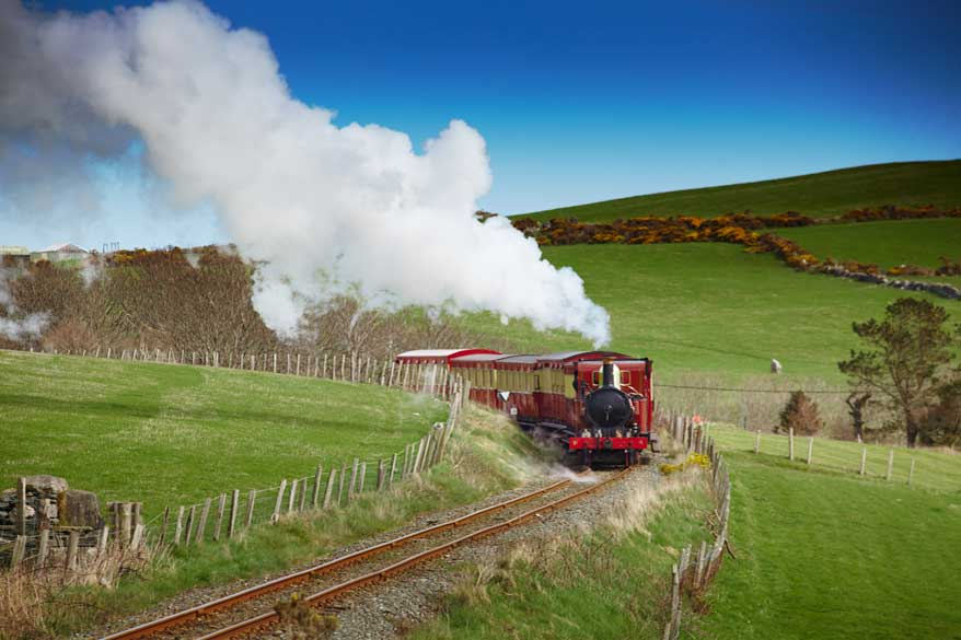 Steam Train Isle of Man