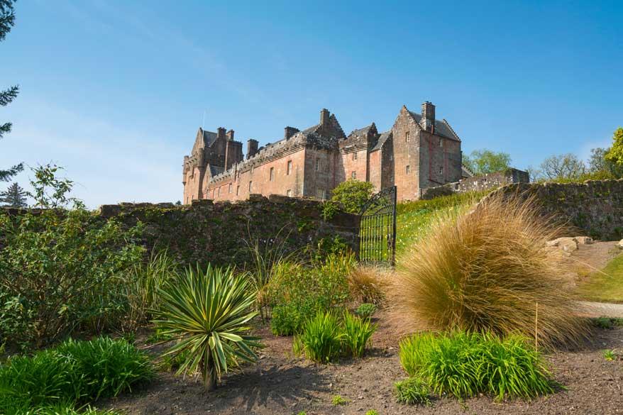Brodick Castle Arran Schottland