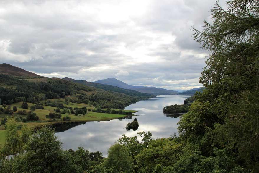 Queens View Pitlochry Schottland