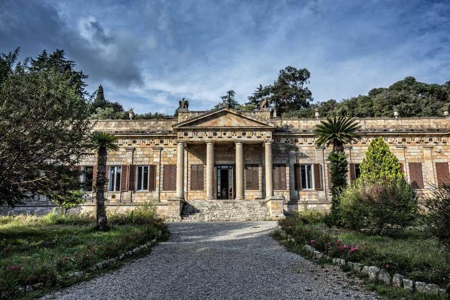 Napoleon Haus auf Elba