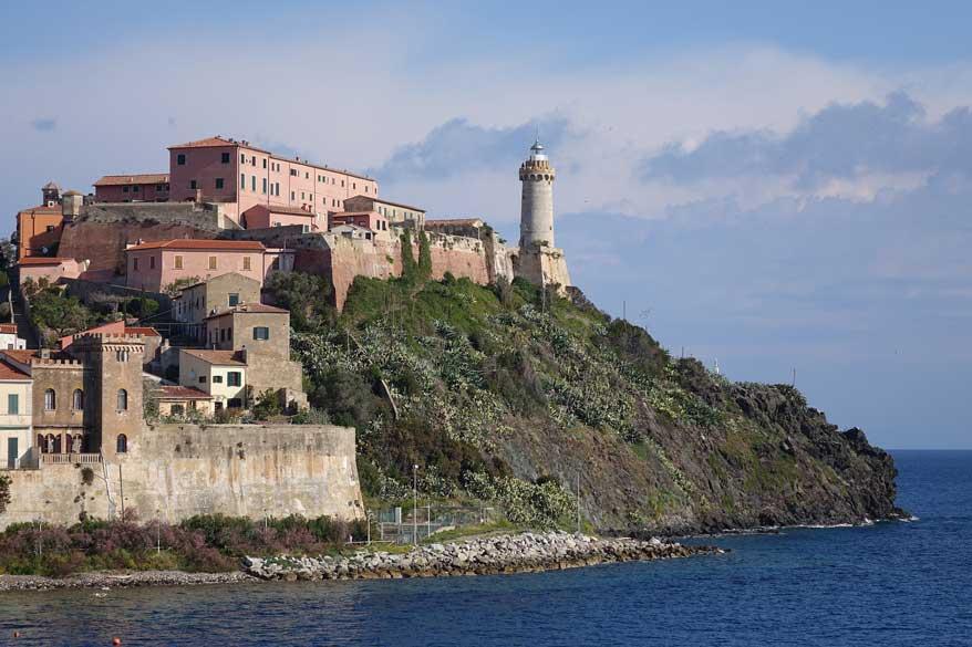 Küstenort in der Toskana